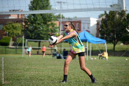 Grass Volleyball Pass
