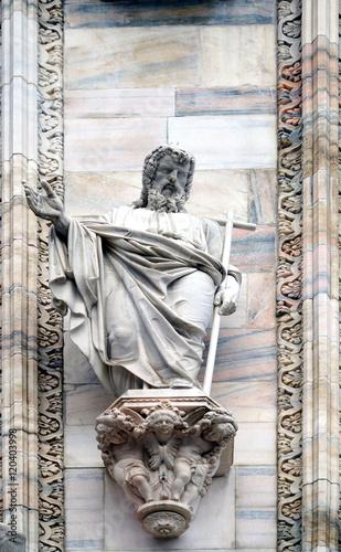 Foto op Canvas Milan apostle