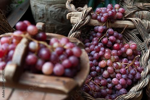 Fotografía  Cesto de uvas