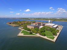 Aerial Photo Ellis Island New Jersey