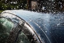 Washing Of Car.