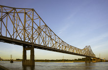 Eads Bridge In St. Louis Over ...