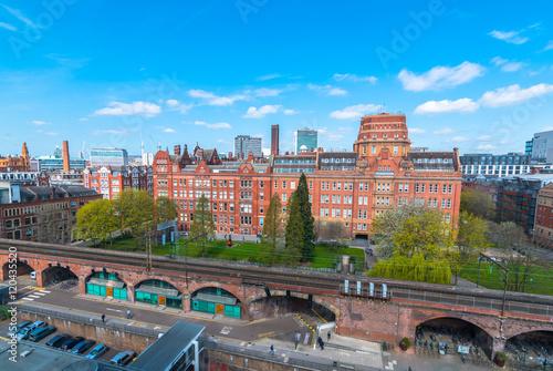 Photo  Sackville street University of Manchester Building.