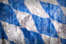 Grunge Style Of Bavaria Flag O...