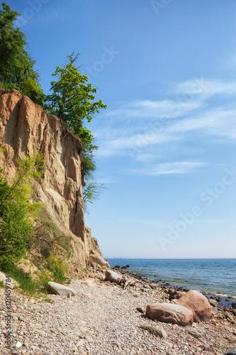 Obraz Urwisko Orłowo na Morzu Bałtyckim w Gdyni - fototapety do salonu