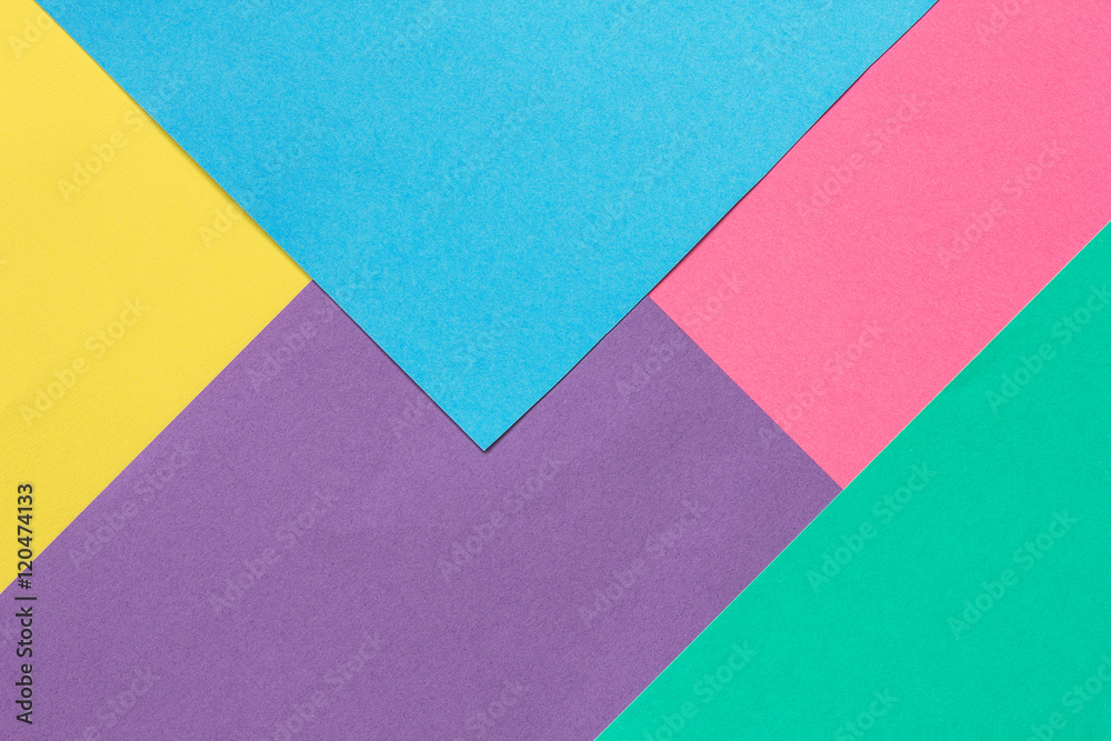 Fototapety, obrazy: Background of colored paper