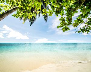 Fototapeta Idyllic beach