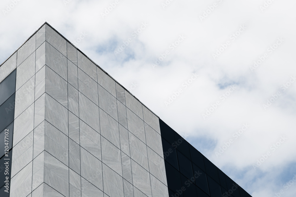 Fototapety, obrazy: Architectural detail of a modern building