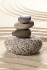 Fototapeta na wymiar japanese garden zen stone