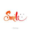 smile_lettering_design