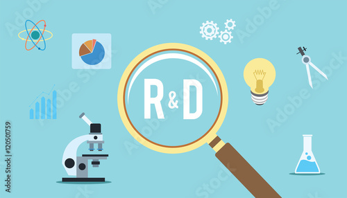 Photo  research and development r d concept innovation