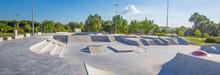 Skate Park In The Daytime. Urb...