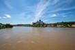 Elbe bei Meißen mit Hochwasser