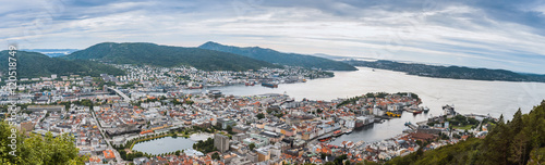Poster View of Bergen, Norway