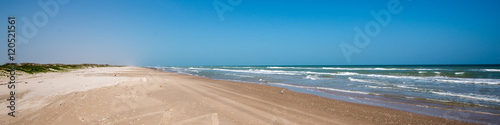 Aluminium Prints Coast South Padre Island Beach
