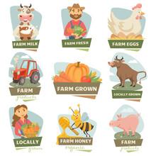 Farm Market Labels