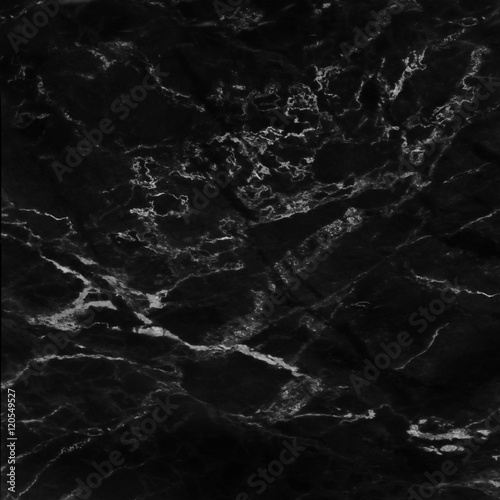 Foto op Canvas Stenen Black marble natural pattern for background, abstract natural ma