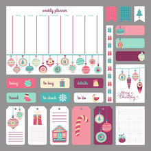 Cute Holidays Planner Concept....
