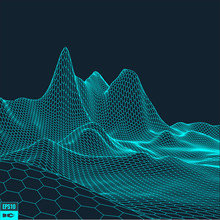 Abstract Vector Landscape Back...