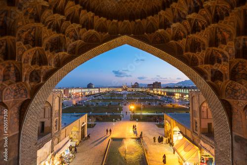 Fotografie, Obraz  Naqsh-e Jahan Square, Isfahan, Iran