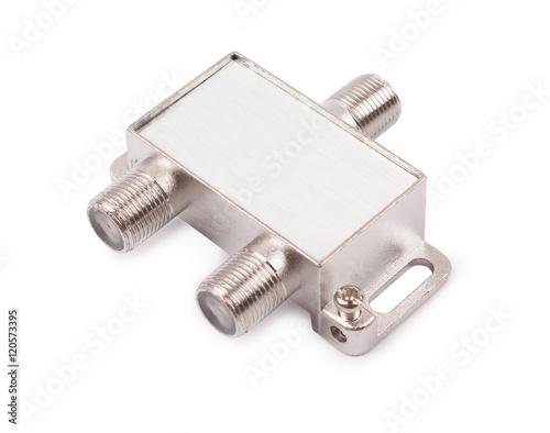 Fotografía  Splitter for an antenna cable