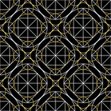 Vector Geometry Seamless Pattern