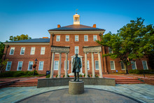 The Thurgood Marshall Memorial, In Annapolis, Maryland.