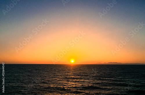 Oia, Santorini at Sunset