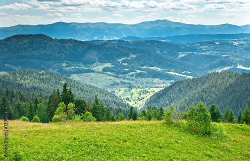 Papiers peints Colline Beautiful mountains landscape
