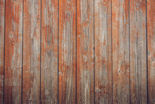 Grunge Red Planks With Texture