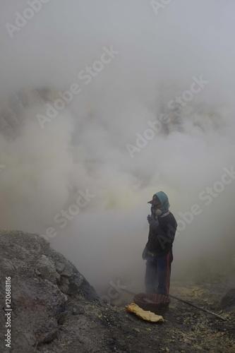 Photo Dans l'enfer du volcan, Indonésie