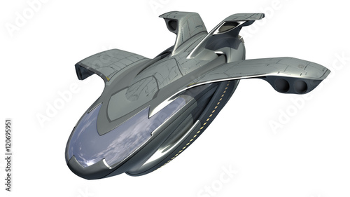 3d Rendering Of Spacecraft Design For Science Fiction Backgrounds