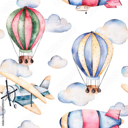 jednolite-wzor-z-balonow-powietrznych-sterowiec-chmury-i-samolot-w-pastelowych