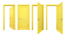 Collection Of Yellow Doors, Is...