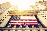 Wall Street New York Stock Exchange Entrance - 120700998