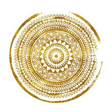 Mandala. Abstract Round Vector...