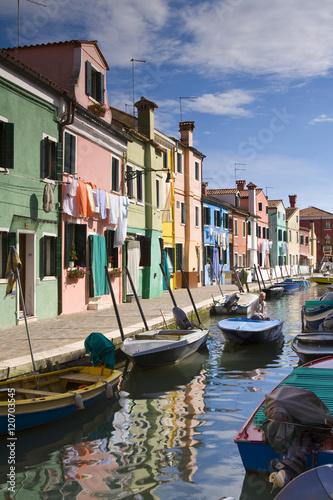 Burano, Italy Poster