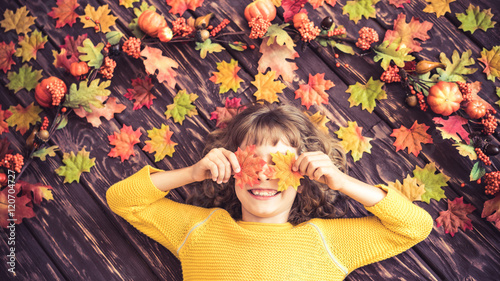 Fotografie, Obraz  Autumn Thanksgiving Holiday Concept