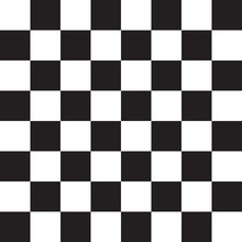 Black And White Squares. Chess...