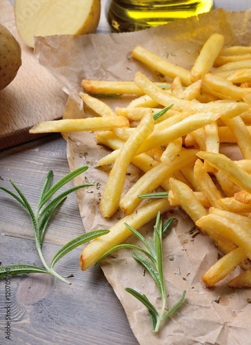 Chips, French fries