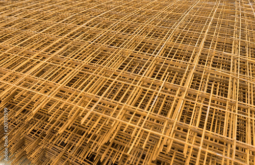 Steel wire mesh for concrete cement construct reinforcement