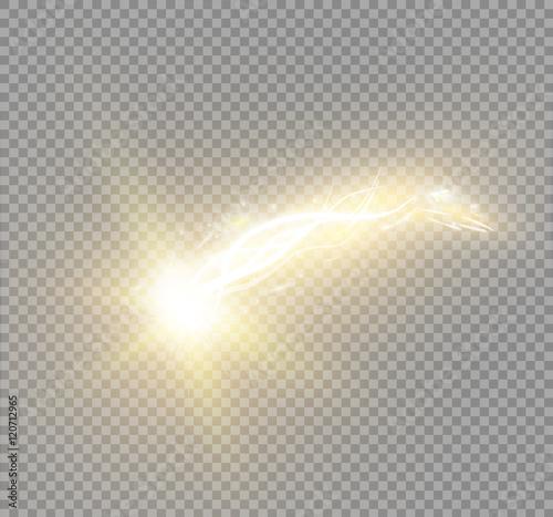 Obraz A bright comet - fototapety do salonu