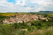 The small unspoilt town of Torres del Rio, Navarra, Spain