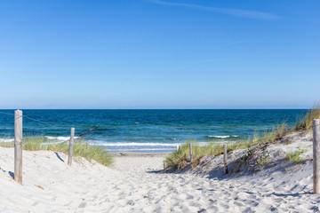 Fototapeta Urlaub am Meer