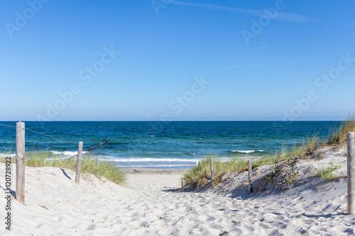 Keuken foto achterwand Noordzee Urlaub am Meer