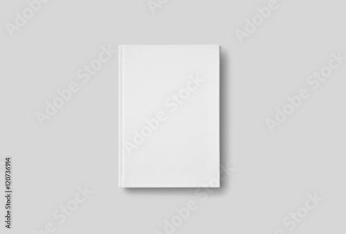 Fotografie, Obraz  Photorealistic Book Mockup on light grey background