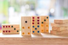 Wood Domino Brain Game For Kids