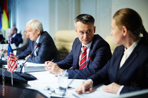 Stampa su Tela Committee meeting