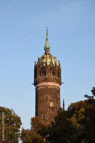 Fotografie, Obraz  Schlosskirche Wittenberg