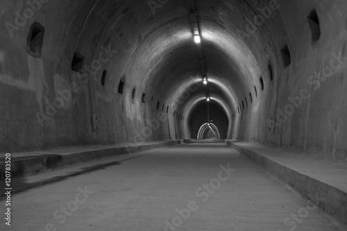 Papiers peints Tunnel Touristic tunnel in Zagreb, Croatia